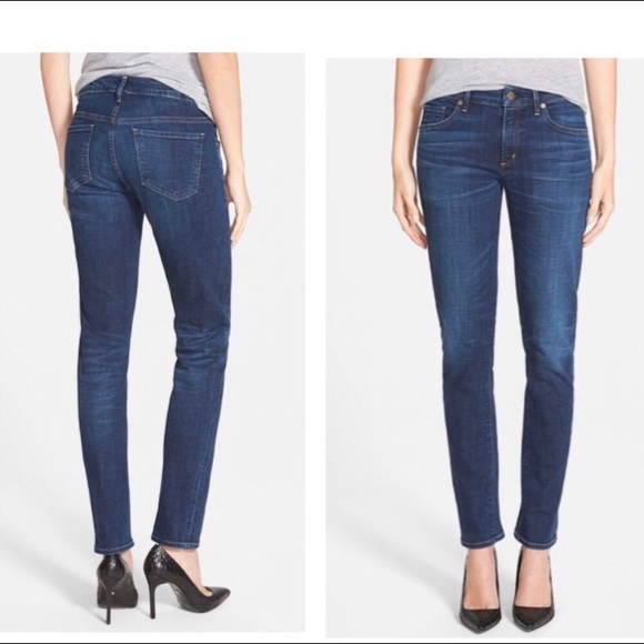 Citizens of Humanity | Mid-Rise Skinny Jeans | 25